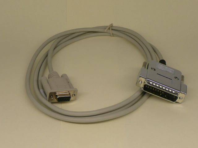 Modem cable D15M to D25M